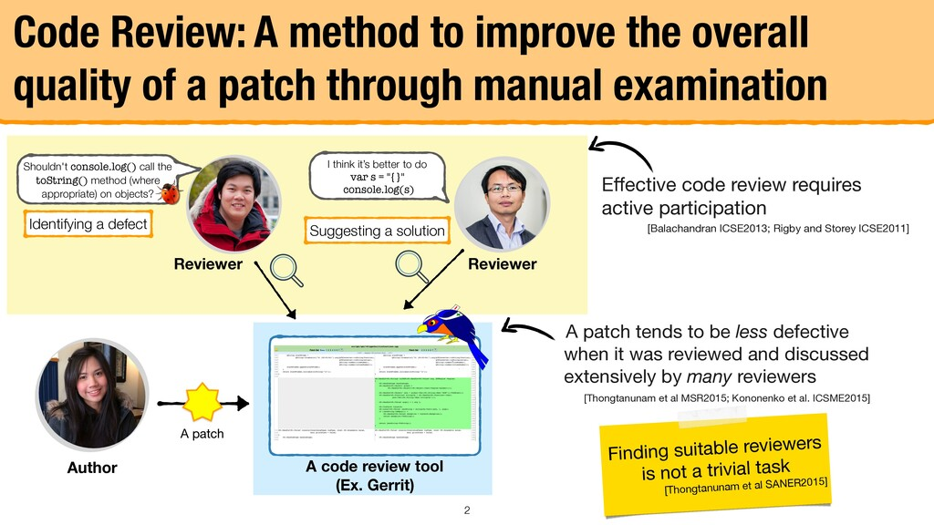 Effective code review requires active participat...