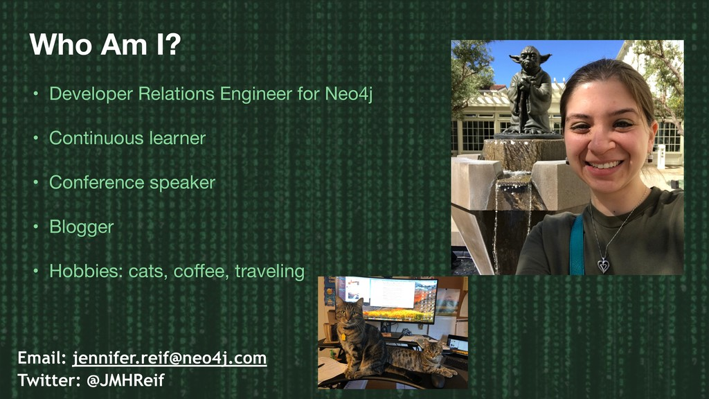 Who Am I? • Developer Relations Engineer for Ne...