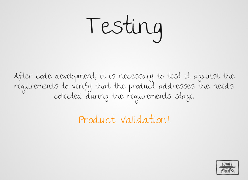Testing After code development, it is necessary...