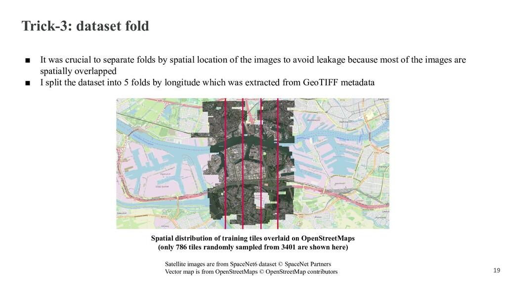 Trick-3: dataset fold ■ It was crucial to separ...