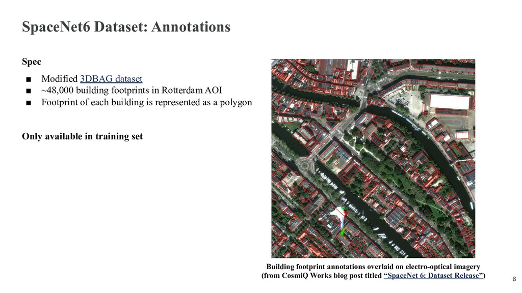 SpaceNet6 Dataset: Annotations Spec ■ Modified ...