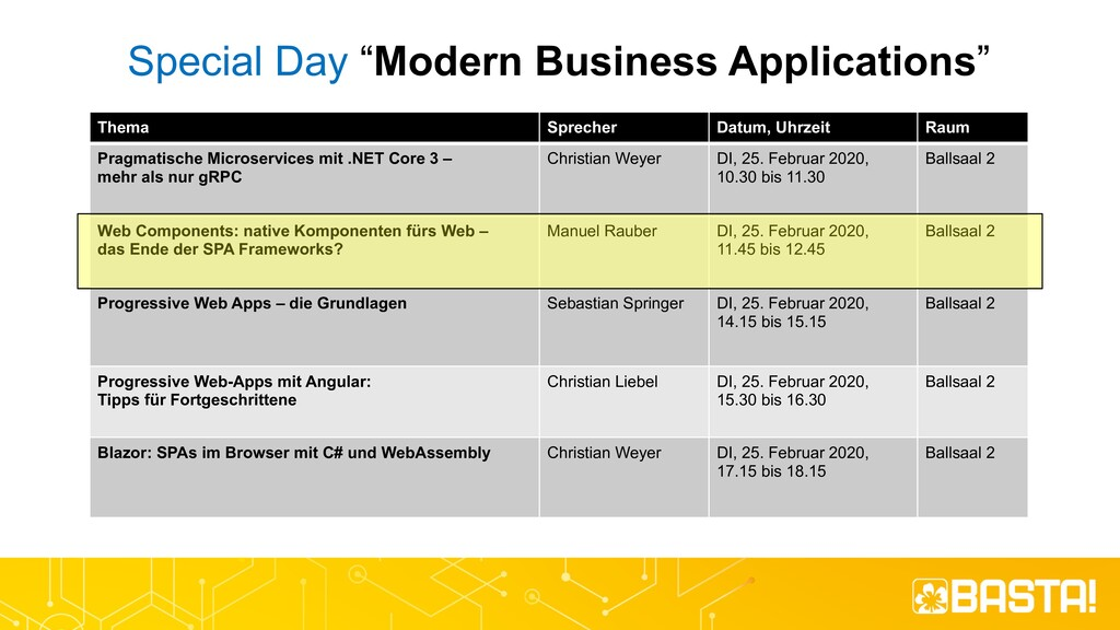 "Special Day ""Modern Business Applications"" Them..."