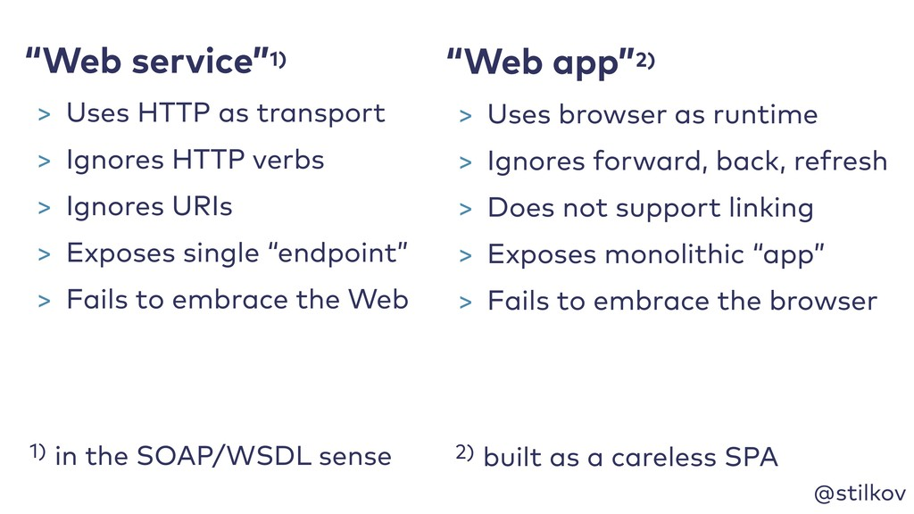 """@stilkov 1) in the SOAP/WSDL sense """"Web app""""2) ..."""