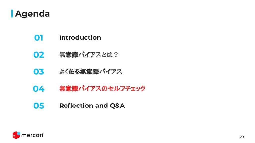 29 Introduction Agenda 無意識バイアスとは? よくある無意識バイアス 0...
