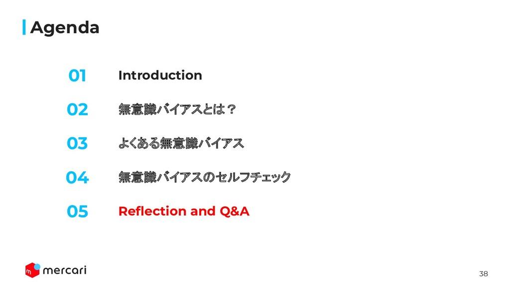 38 Introduction Agenda 無意識バイアスとは? よくある無意識バイアス 0...