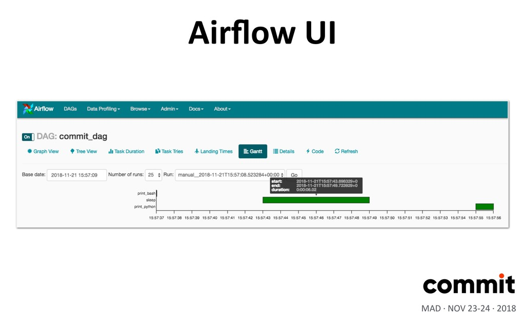 Airflow UI MAD · NOV 23-24 · 2018