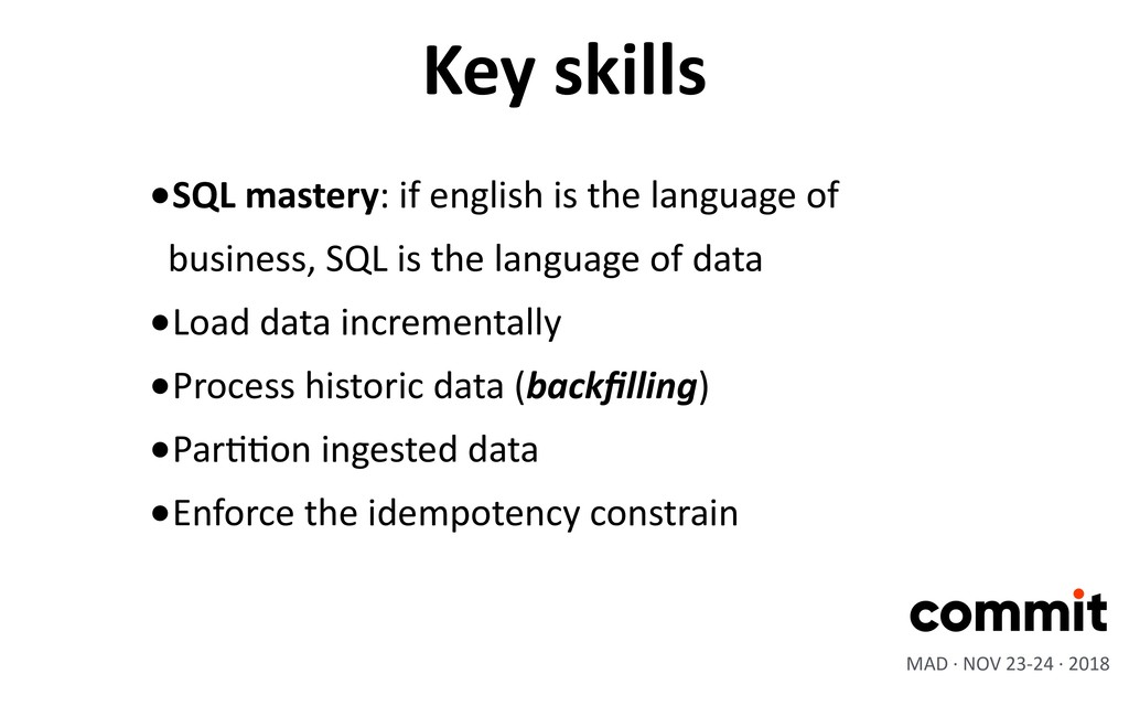 •SQL mastery: if english is the language of bus...