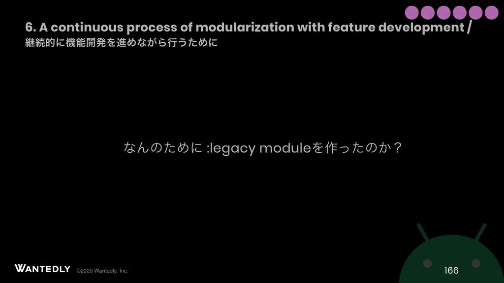©2020 Wantedly, Inc. ͳΜͷͨΊʹ :legacy moduleΛ࡞ͬͨͷ...