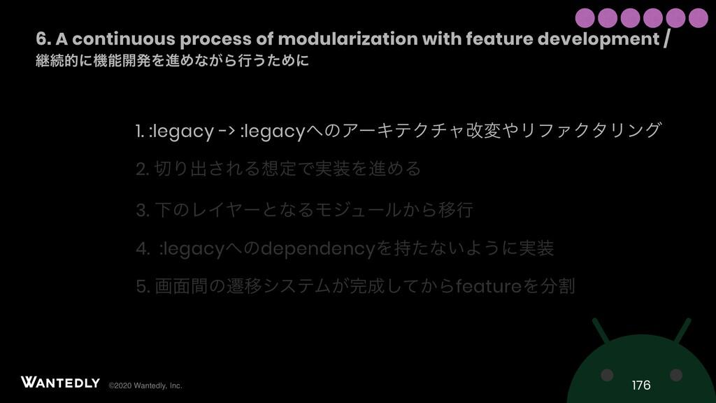 ©2020 Wantedly, Inc. 1. :legacy -> :legacyͷΞʔΩ...