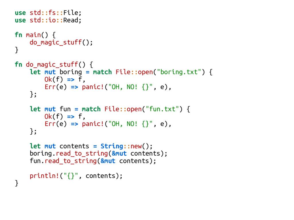 use std::fs::File; use std::io::Read; fn main()...
