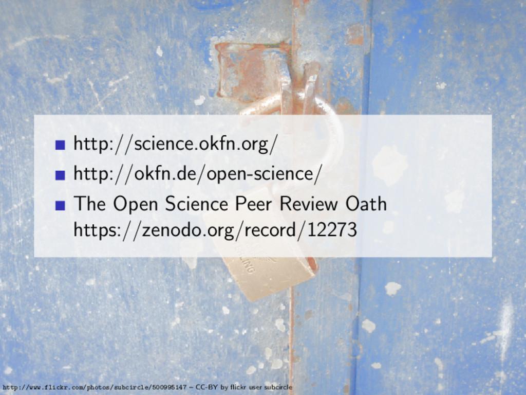 http://science.okfn.org/ http://okfn.de/open-sc...