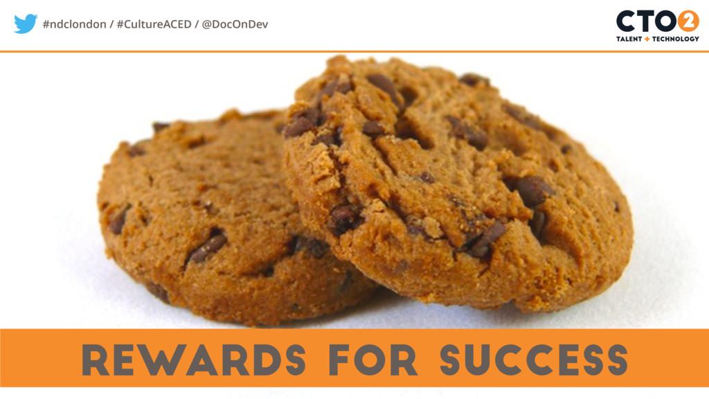 #ndclondon / #CultureACED / @DocOnDev rewards f...