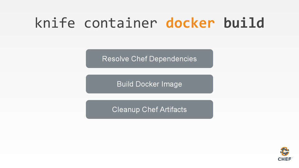knife container docker build Resolve Chef Depen...