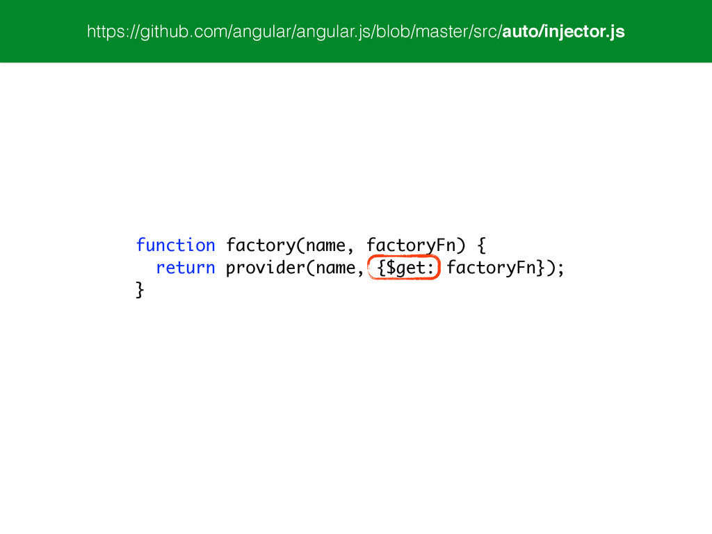 function factory(name, factoryFn) { return prov...