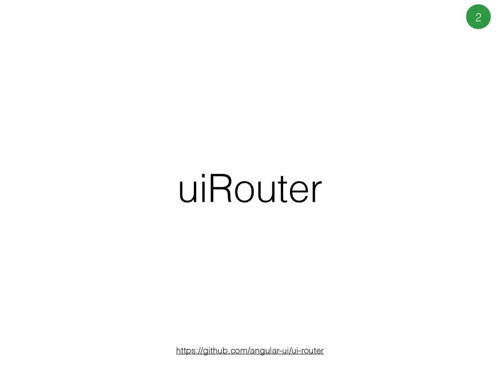 uiRouter https://github.com/angular-ui/ui-route...
