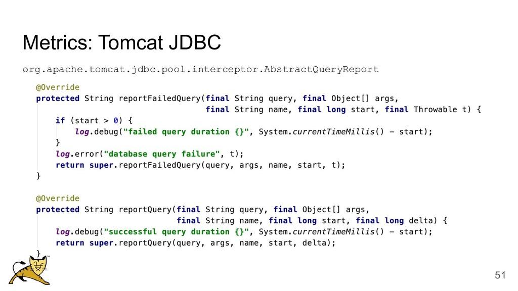 Metrics: Tomcat JDBC org.apache.tomcat.jdbc.poo...
