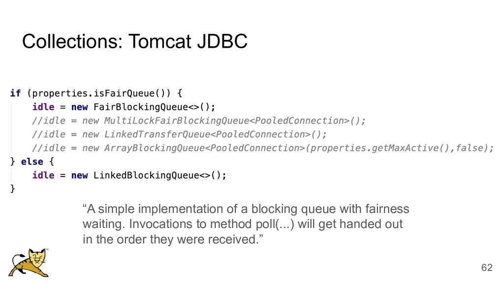 """Collections: Tomcat JDBC """"A simple implementati..."""