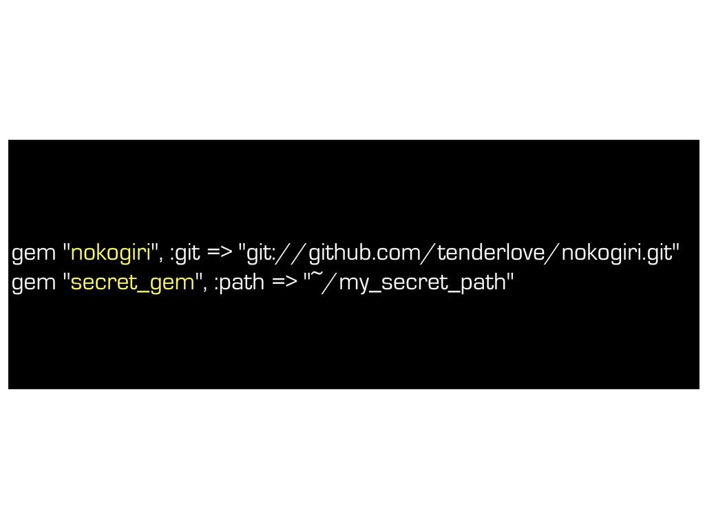 """gem """"nokogiri"""", :git => """"git://github.com/tende..."""