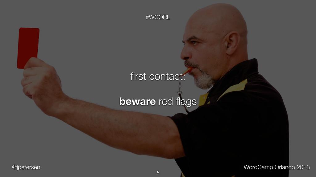 @jpetersen WordCamp Orlando 2013 #WCORL 6 first ...