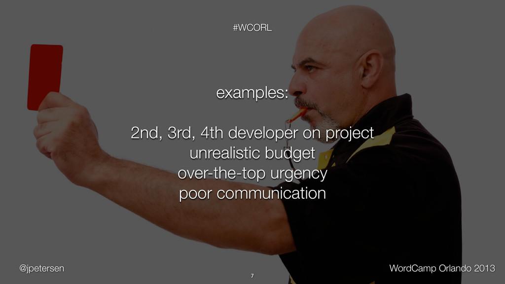 @jpetersen WordCamp Orlando 2013 #WCORL 7 examp...