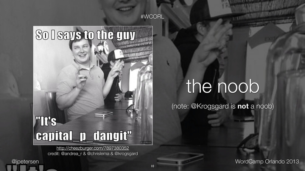 @jpetersen WordCamp Orlando 2013 #WCORL 10 http...