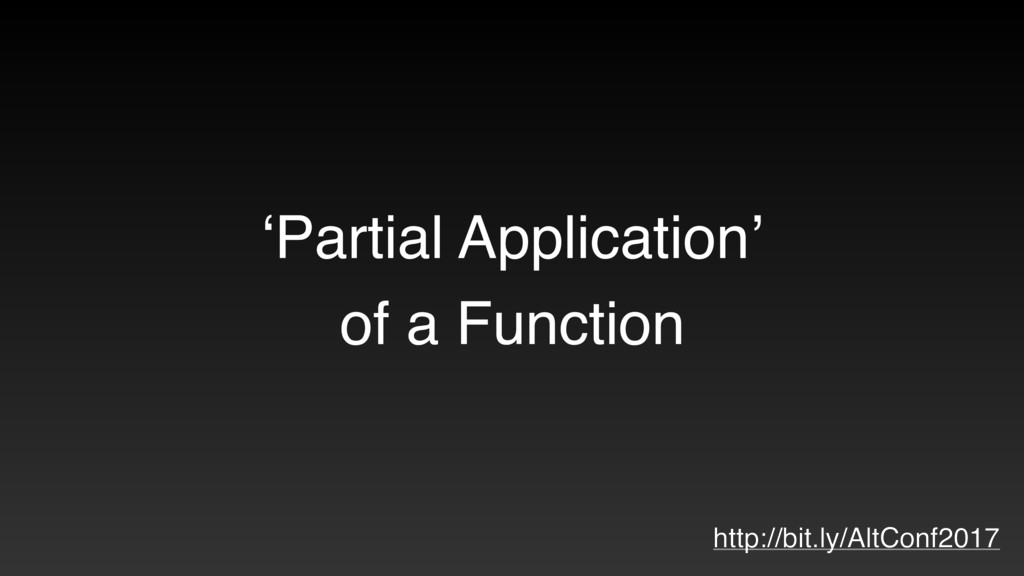 'Partial Application' of a Function http://bit....