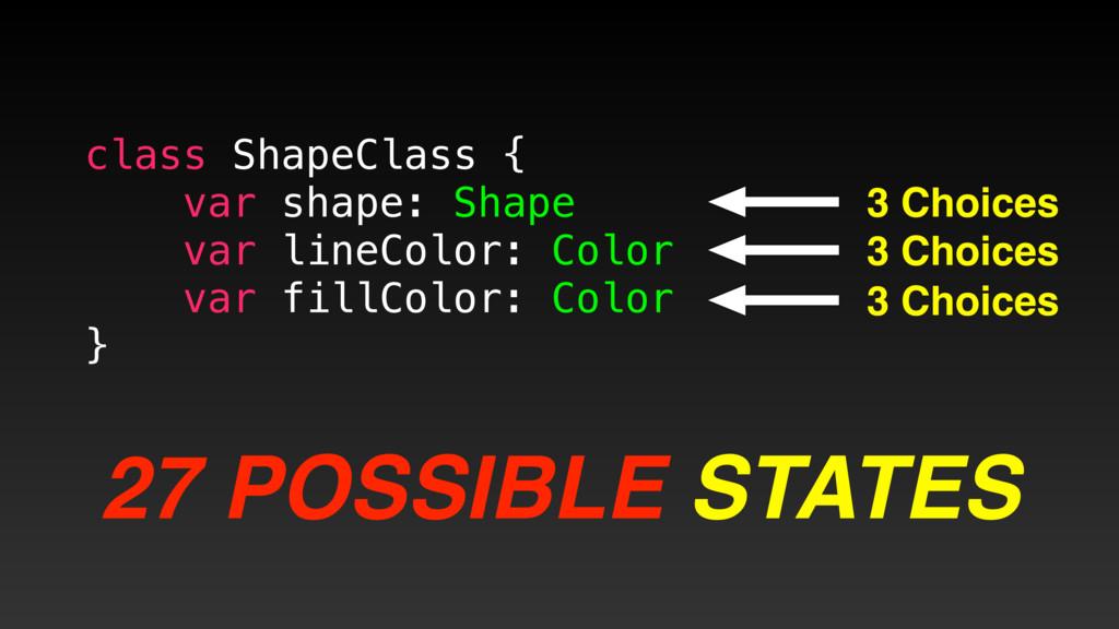 class ShapeClass { var shape: Shape var lineCol...