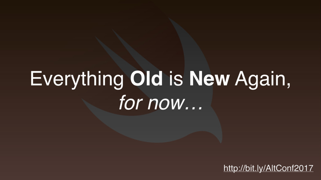 Everything Old is New Again, for now… http://bi...