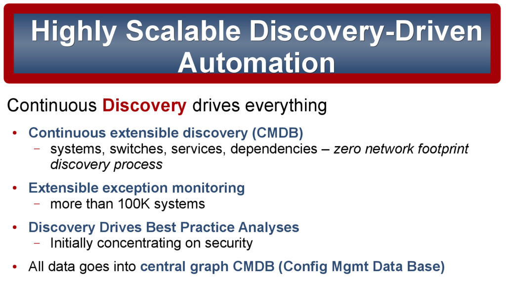 Highly Scalable Discovery-Driven Highly Scalabl...
