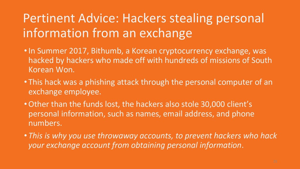 Pertinent Advice: Hackers stealing personal inf...