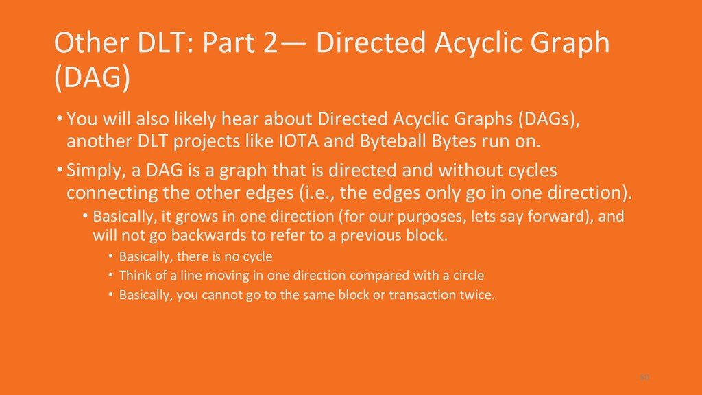 Other DLT: Part 2— Directed Acyclic Graph (DAG)...
