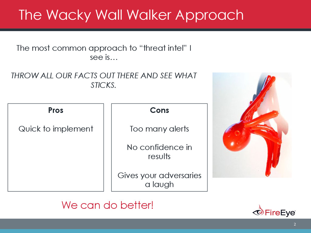 2 The Wacky Wall Walker Approach The most commo...