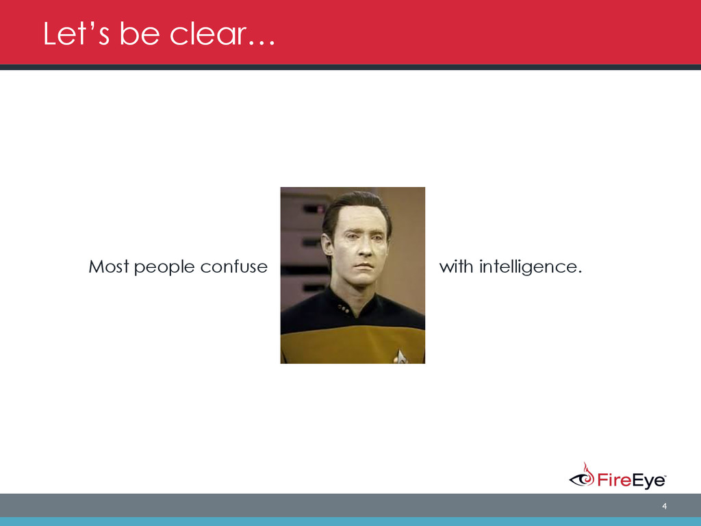 4 Let's be clear… Most people confuse with inte...