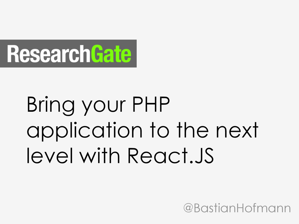 Bring your PHP application to the next level wi...