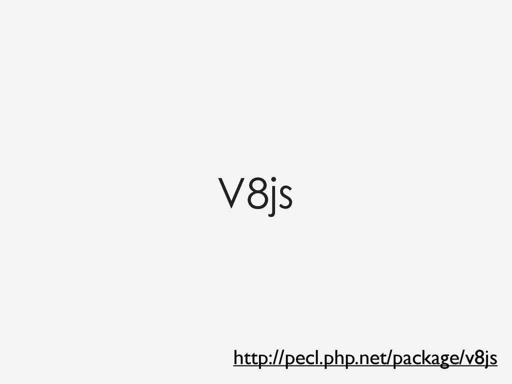 http://pecl.php.net/package/v8js V8js