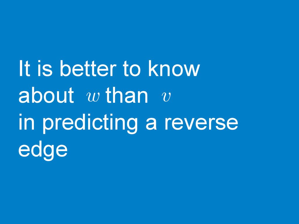 It is better to know about than in predicting a...