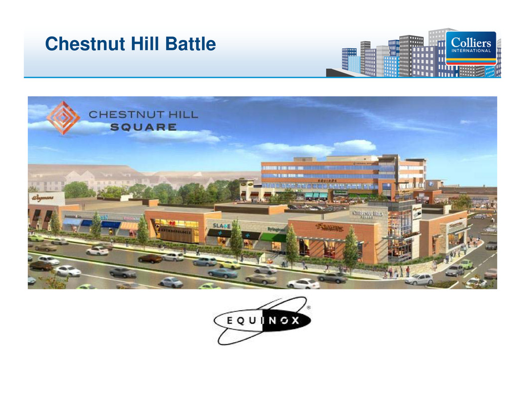 Click to edit Master title style Chestnut Hill ...