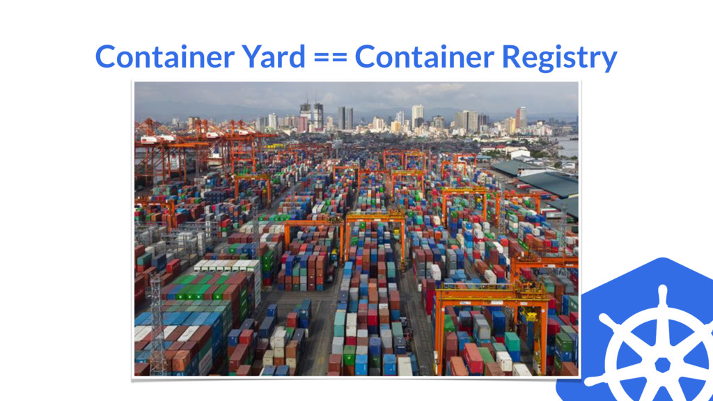 Container Yard == Container Registry