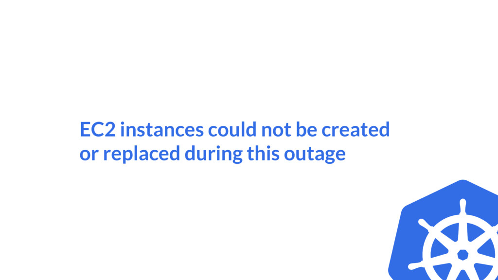 EC2 instances could not be created or replaced ...