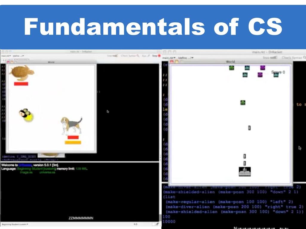 Fundamentals of CS