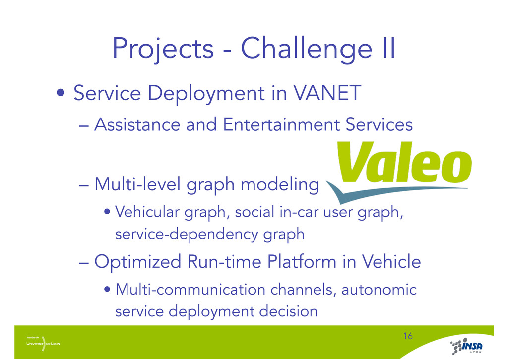 Projects - Challenge II • Service Deployment in...
