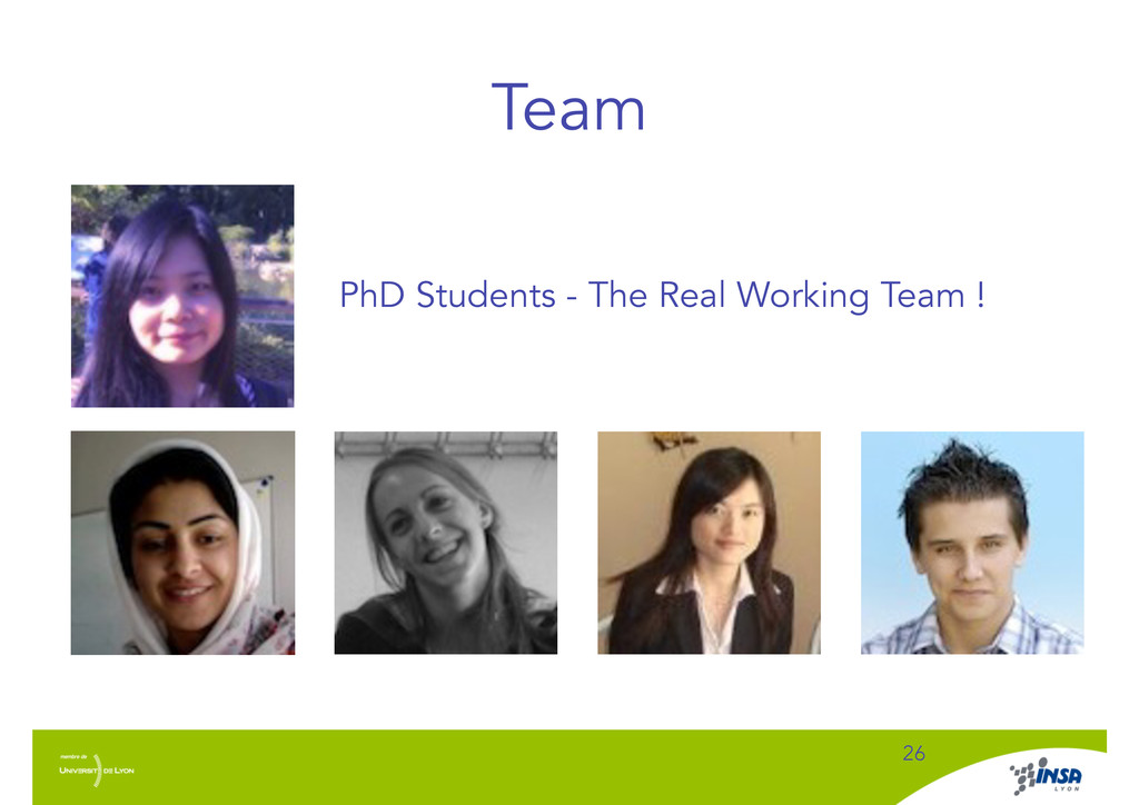 Team ! 26 ! PhD Students - The Real Working Tea...