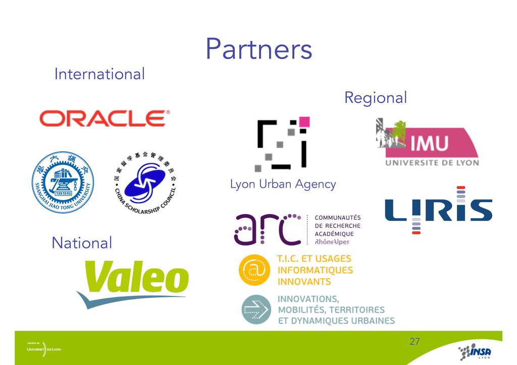 Partners ! 27 International Regional National L...