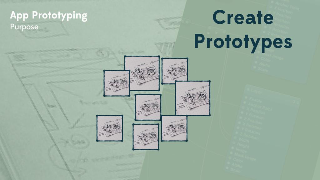 App Prototyping Purpose Create Prototypes