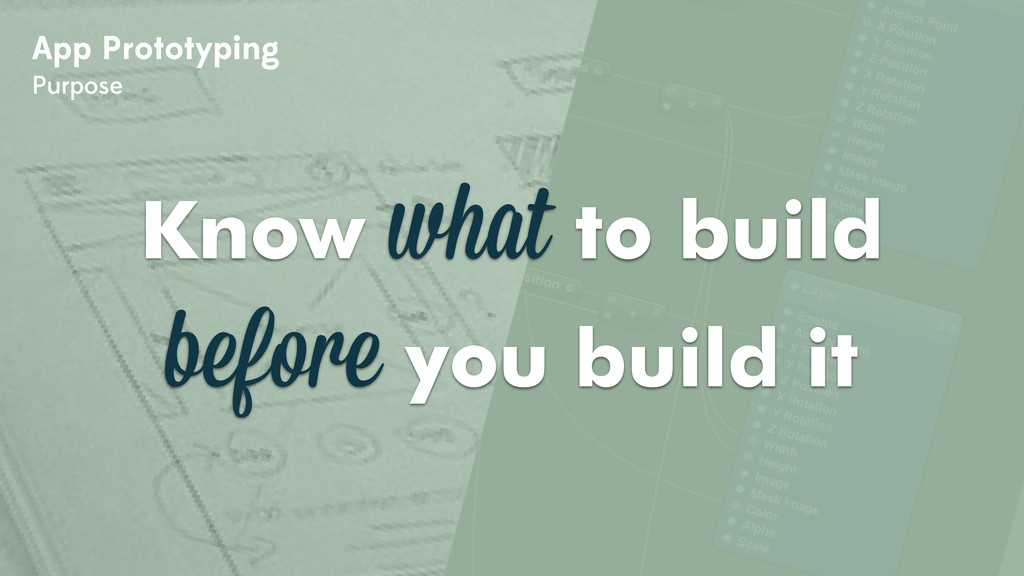 App Prototyping Purpose Know what to build befo...