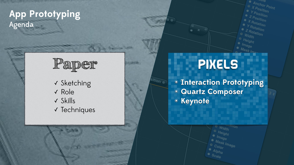 App Prototyping Agenda ✴ Interaction Prototypin...
