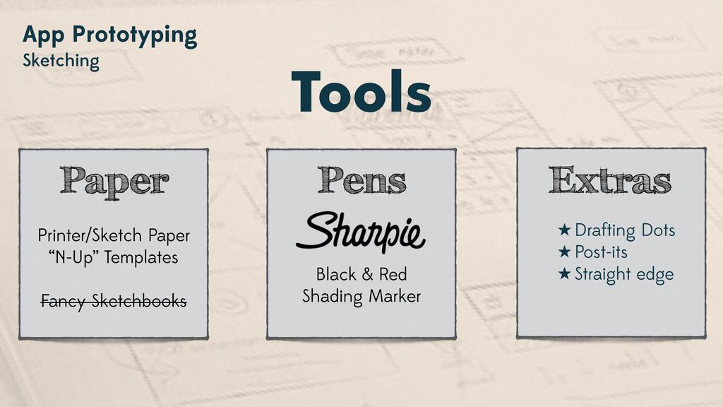 App Prototyping Sketching Tools Printer/Sketch ...