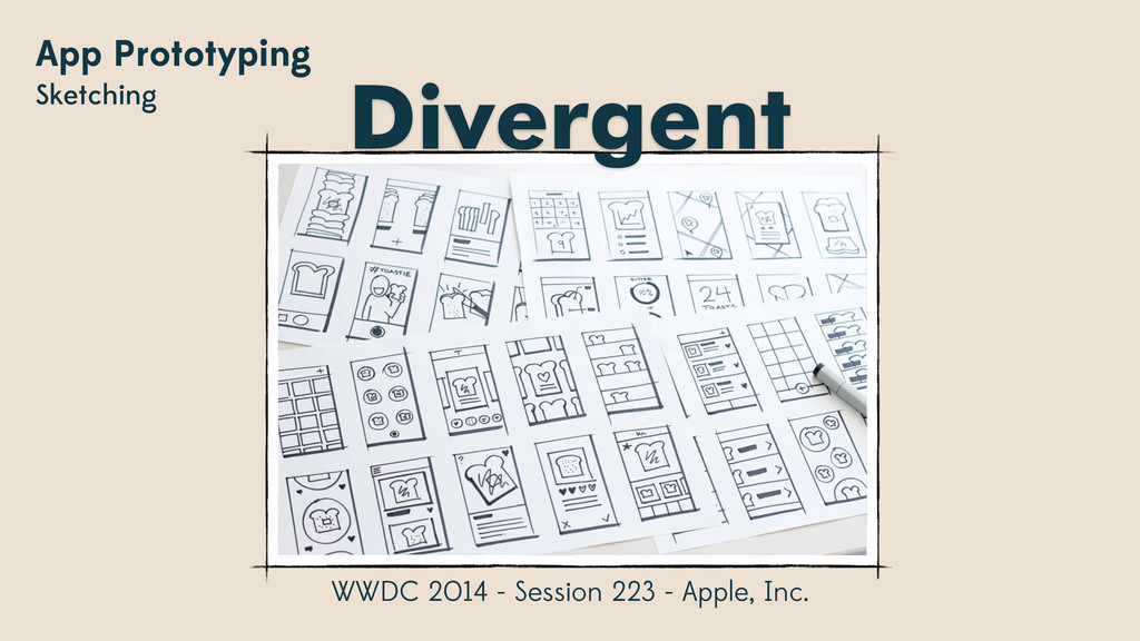 App Prototyping Sketching WWDC 2014 - Session 2...