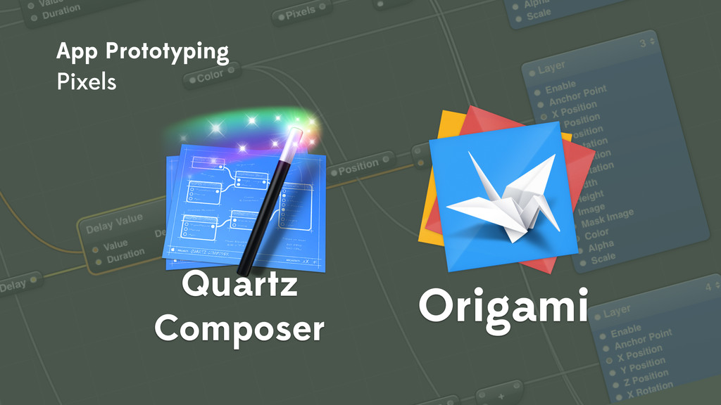 Origami Quartz Composer App Prototyping Pixels