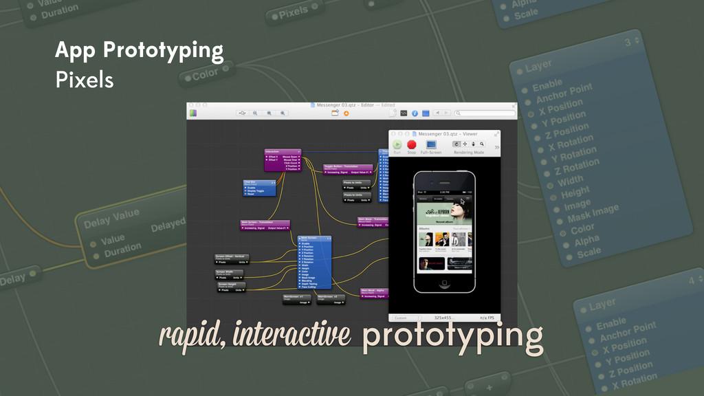 rapid, interactive prototyping App Prototyping ...